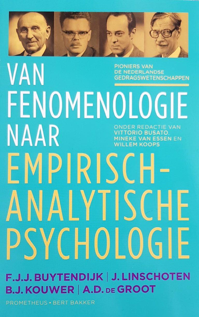 Van fenomenologie naar emp. an. psychologie